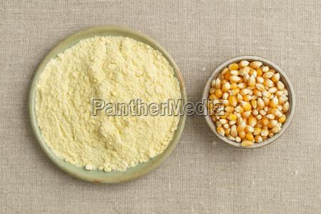maize and corn flour