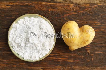 potato and potato flour