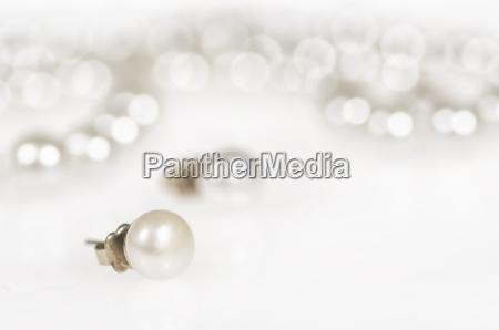 perlenohrring