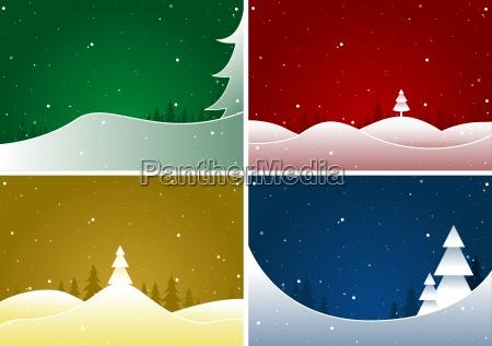 frohe weihnachten set