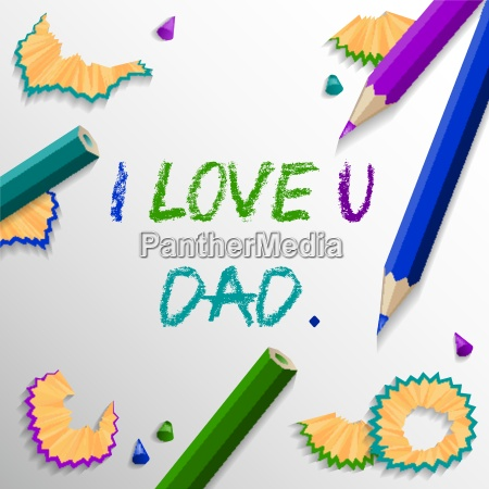 fathers day vector background