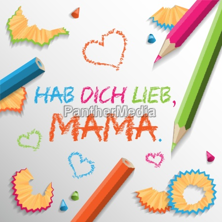 mothers day vector background colorful