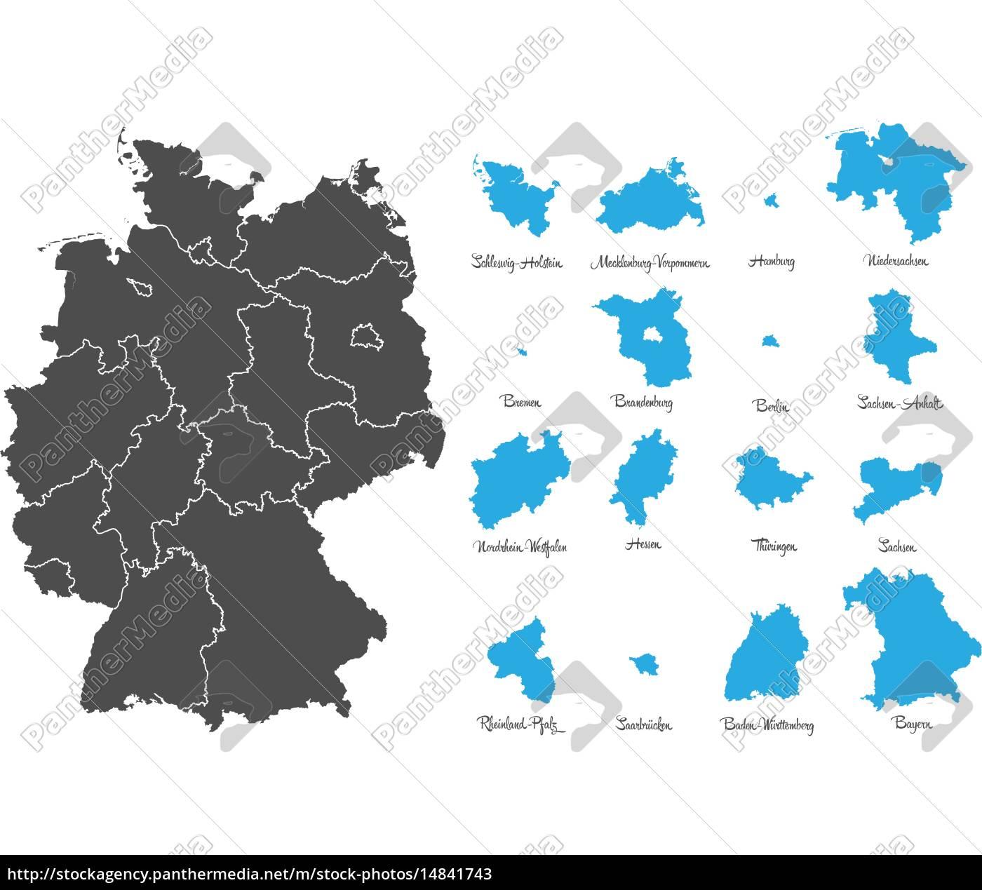Deutschland karte linien Streckennetz /