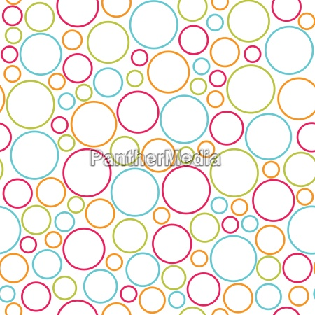 seamless colorful dots pattern vector background