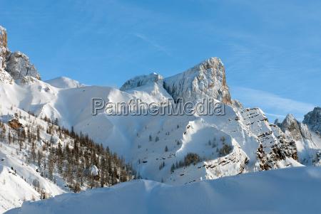alpine szene die dolomiten norditalien