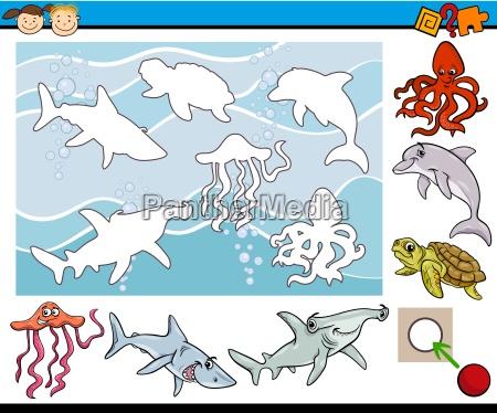 cartoon game for preschool kids