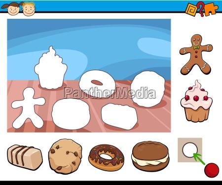 cartoon kindergarten game