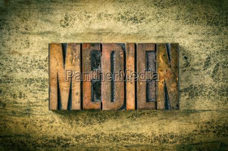 alte holzlettern medien