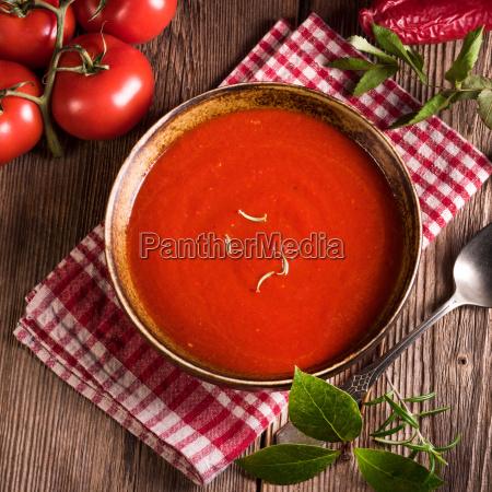 chilli tomato soup