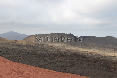 the volcanic area of u200bu200btimanfaya