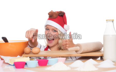 christmas woman sitting in front of