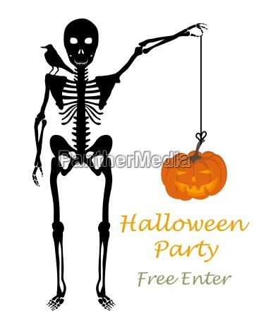 halloween gruss karte