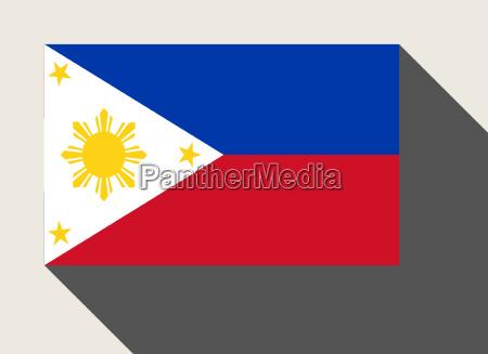 phillipines flagge