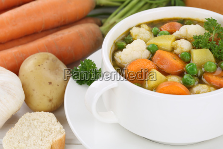 vegetable soup vegetable soup close up