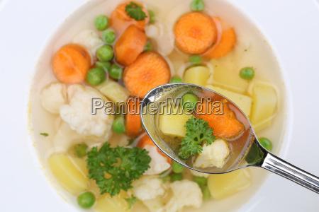 vegetable soup vegetable soup food on