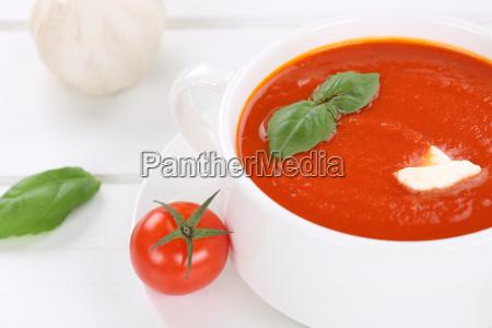 fresh tomato soup tomato cream soup