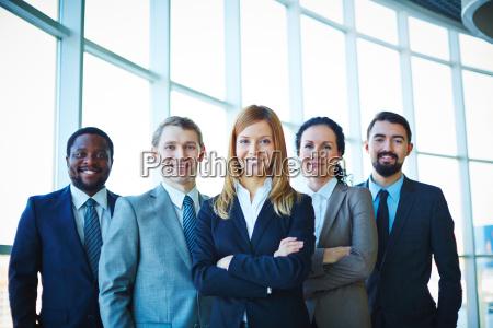 gruppe von mitarbeitern