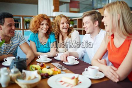 sprechen sie im cafe