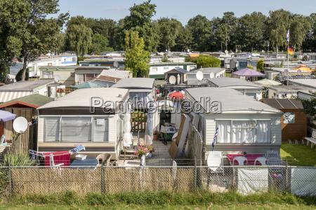 mobilheime in der stadt camping lemmer