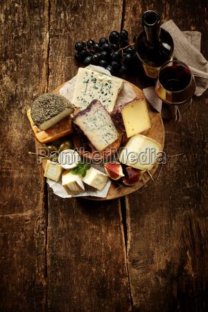 gourmet cheese platter
