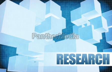 research on futuristic abstract