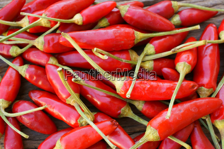 background completely made from fresh chillies