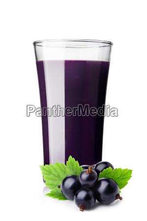 blackcurrant smoothie