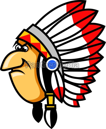 grumpy indianer