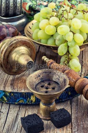 shisha con aroma fruttato