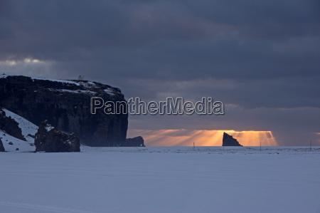 dyrholaey island