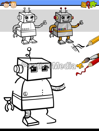 coloring task for children