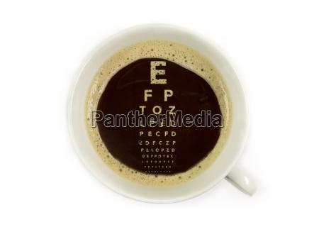 kaffee beim augenarzt