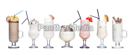 milk cocktails