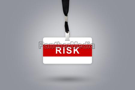 risiko auf abzeichen