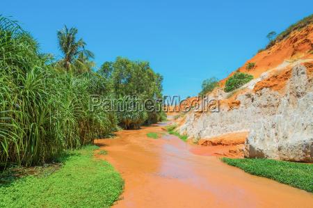 red river und buntsandstein