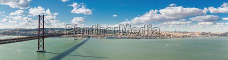 panorama lissabon bruecke