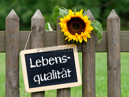 quality of life german text