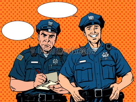 schlechte gute cop polizei