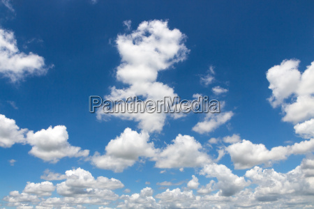 beauty clound on blue sky