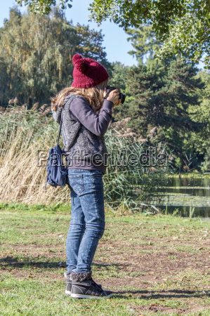 a young girl photographed in the