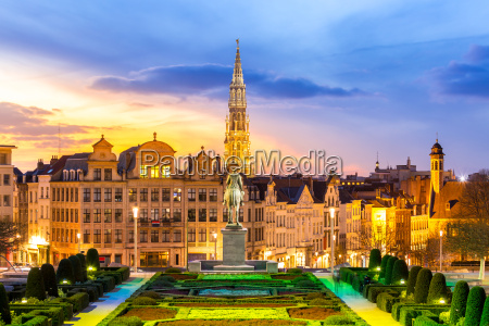 bruessel stadtbild belgium