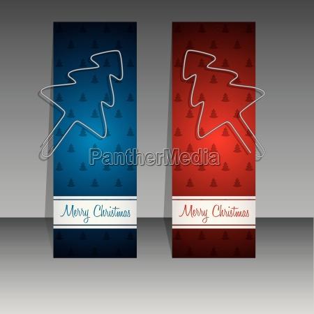 weihnachtliche einkaufsetiketten mit binder clip weihnachtsbaeumen