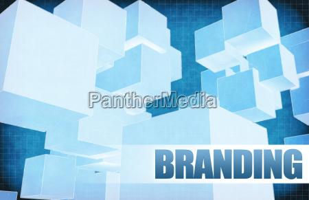 branding auf futuristische zusammenfassung