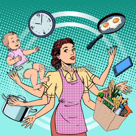 hausfrauarbeitszeit familienerfolgsfrau