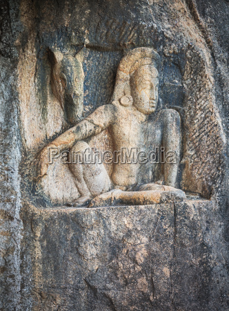 isurumuniya viharaya carving