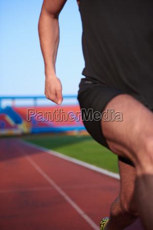 athletic man anfang