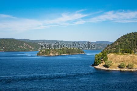 landschaft am oslofjord