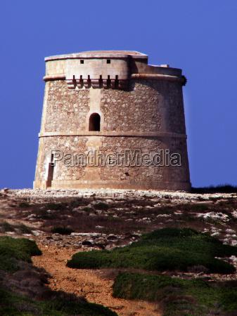 wehrturm auf menorca
