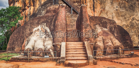 sigiriya rock panorama