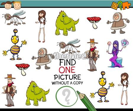 kindergarten task for children